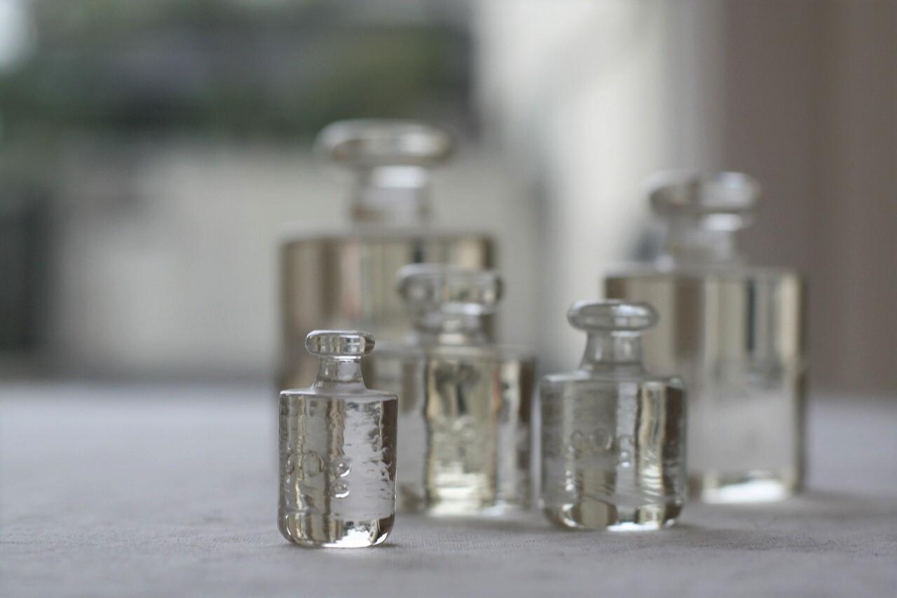 ガラスの分銅セット