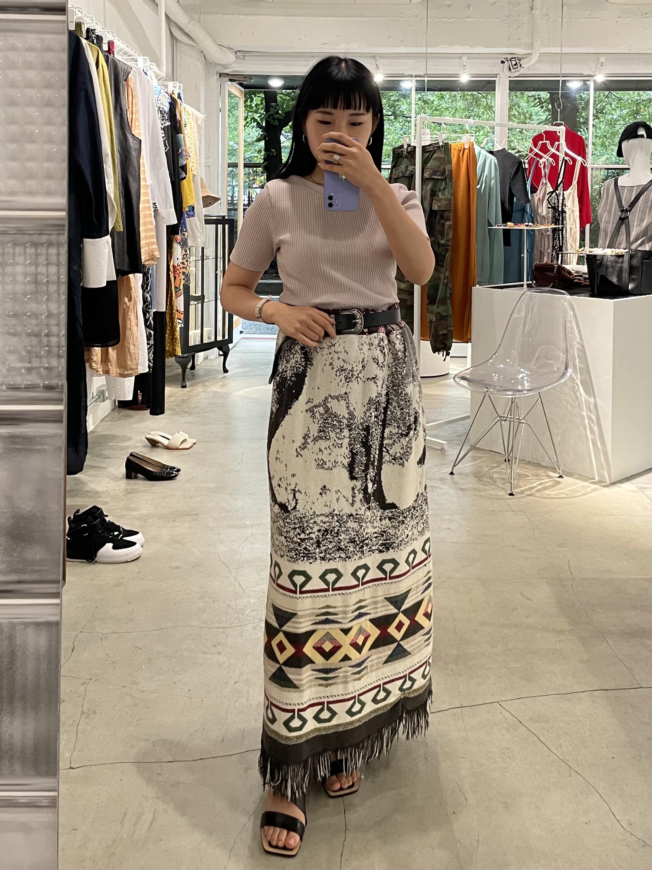 CaNARi remake rug skirt