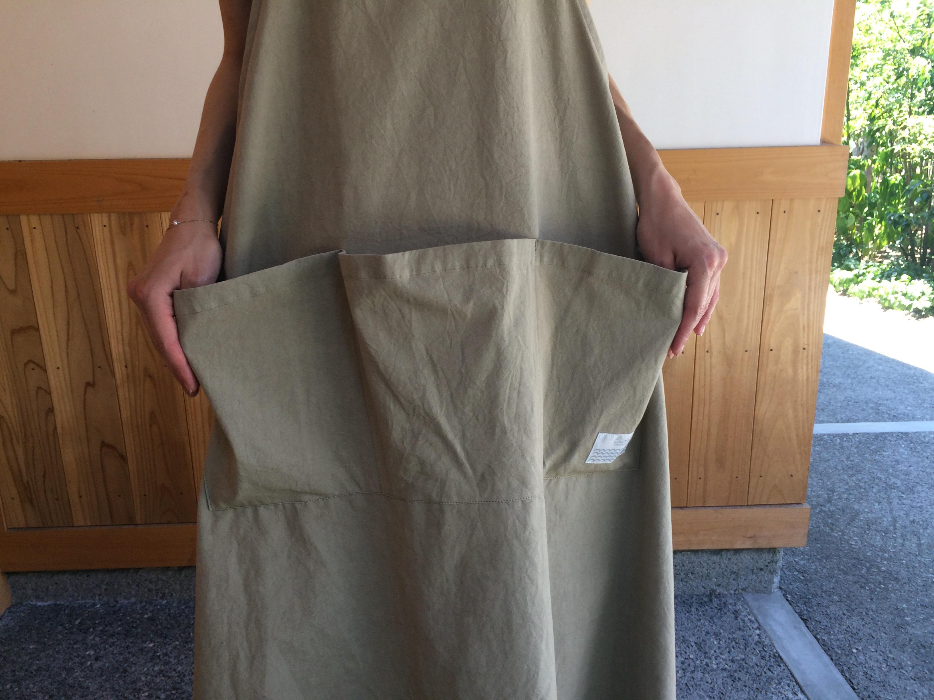 バックリボンジャンパースカート BE