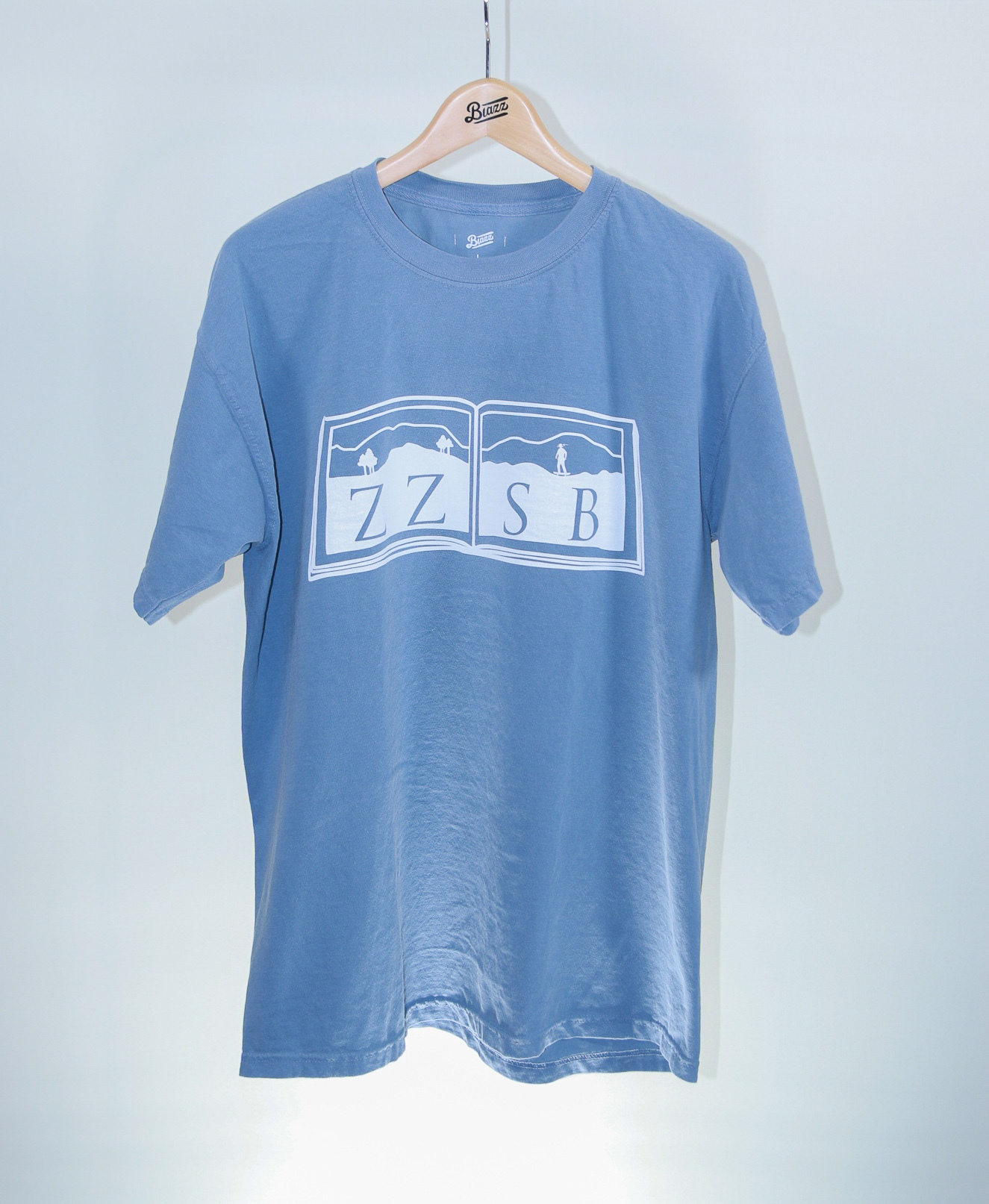 ZZSB 90's DICTIONARY TEE [BLUE]