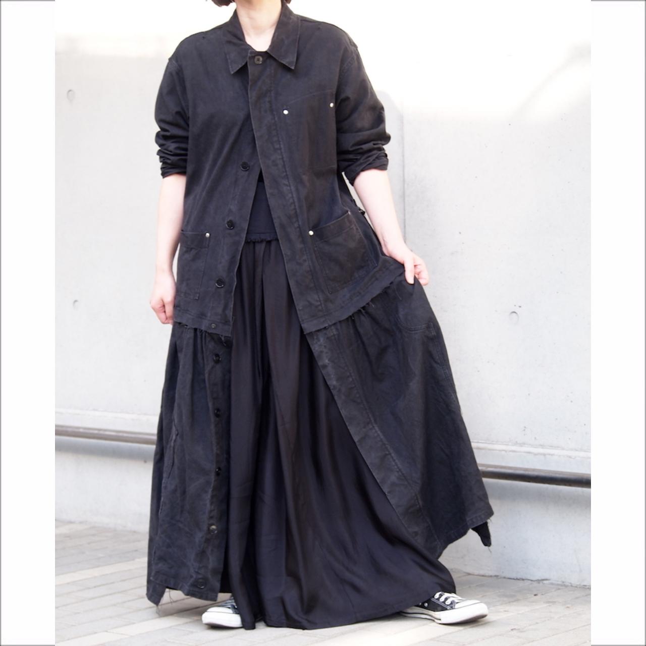 【sandglass】east german one-piece coat / 【サンドグラス】イースト ジャーマン ワンピース コート