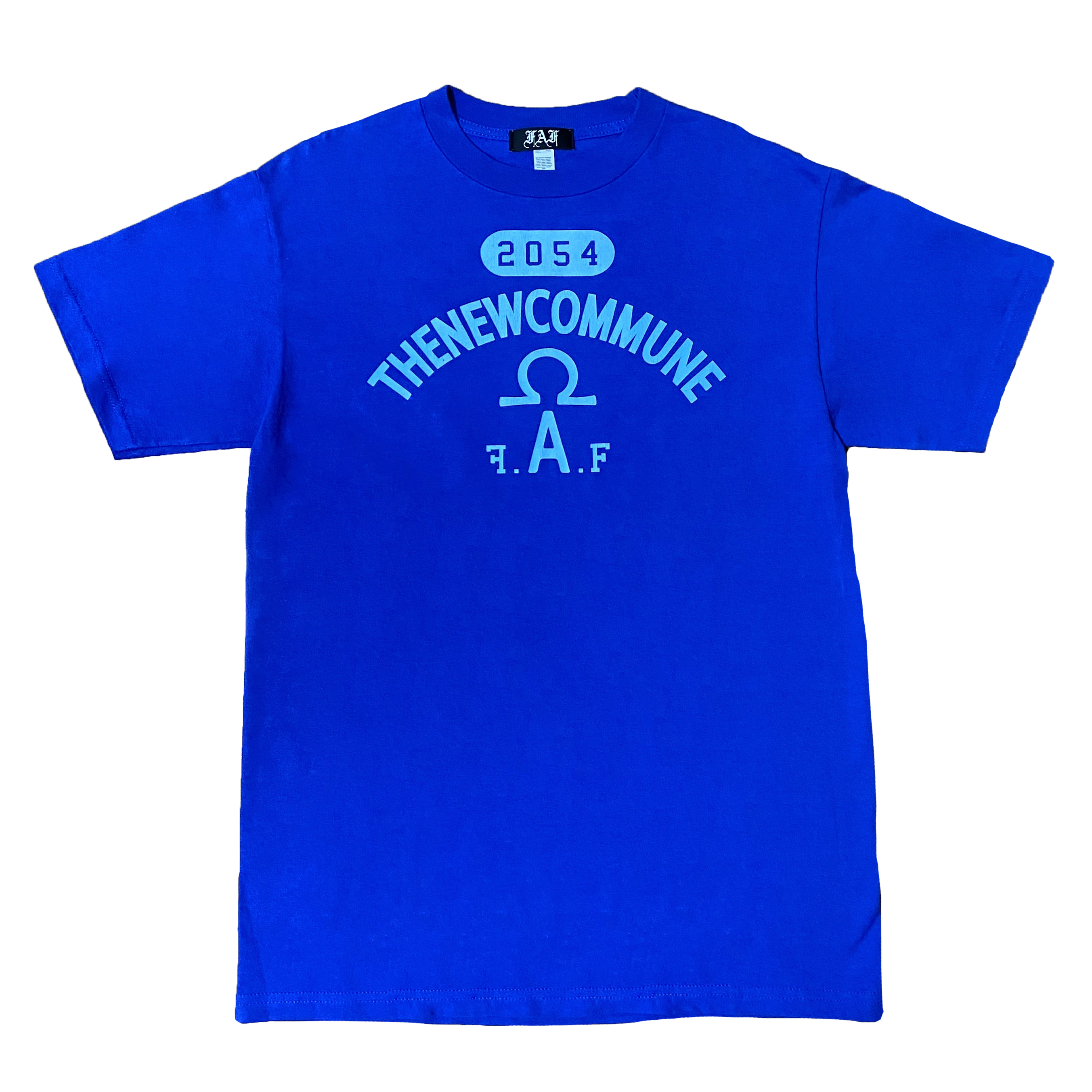 College Of Ankh Tee - blue - - 画像1