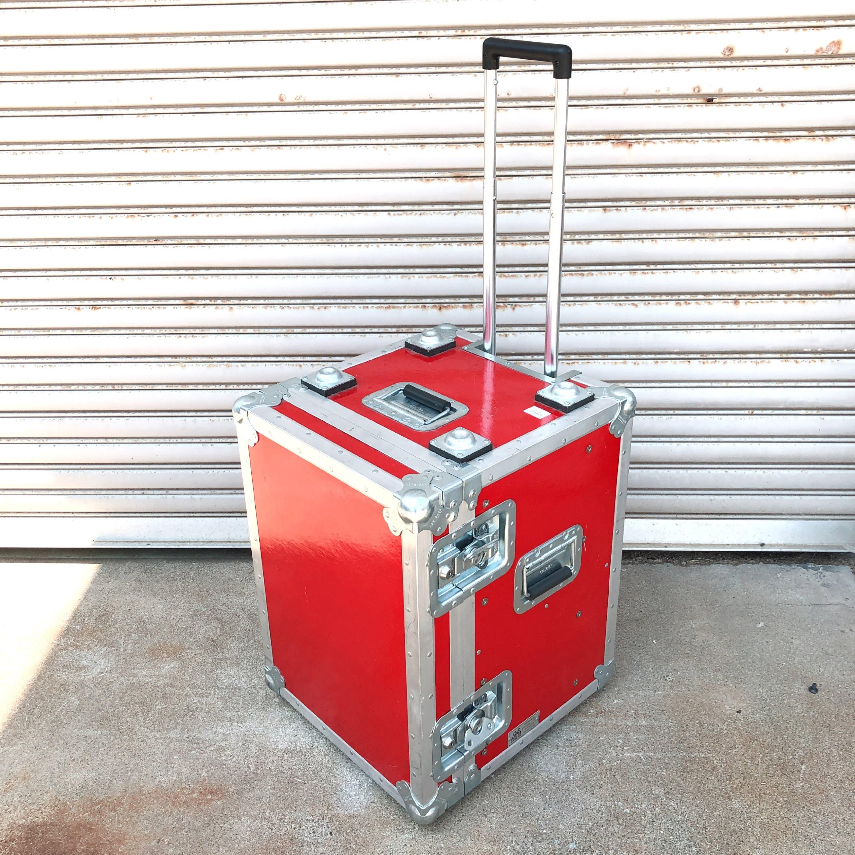 品番0172 A&S Case Co ラックケース ハードケース レッド ヴィンテージ 011