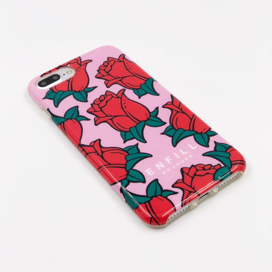 """TPU CASE """"ROSE LOVE"""" for iPhone8/7/6s/6 Plusケース"""