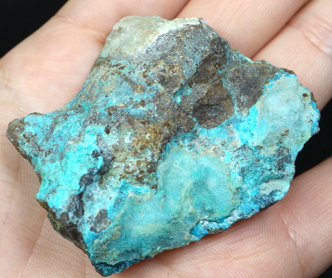 クリソコラ カルサイト フローライト 珪孔雀石 カリフォルニア州  45g CHS021  鉱物 天然石 原石 パワーストーン