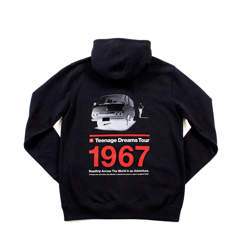 "TOYOTA ""HIACE 1967"" Hoodie - Black"