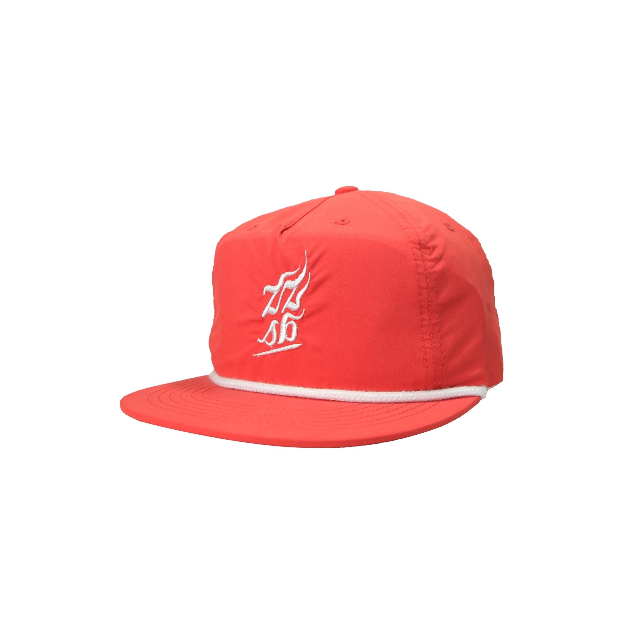 ZZSB CALI 5 PANEL NYLON CAP [RED]