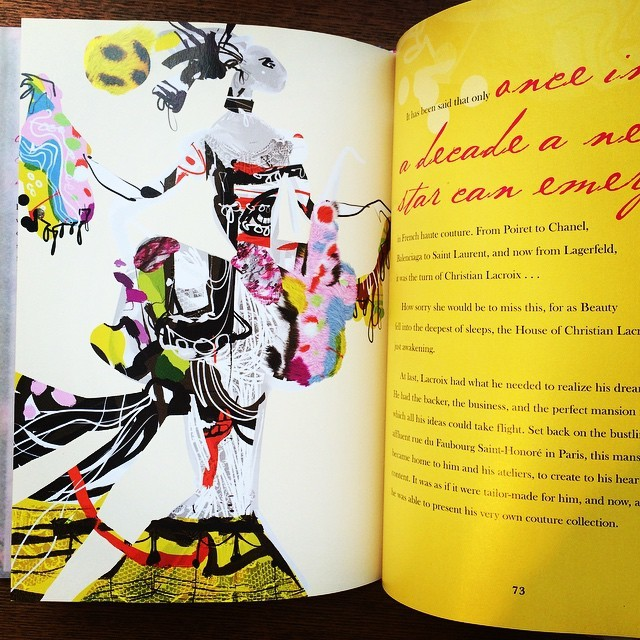 絵本「Christian Lacroix and the Tale of Sleeping Beauty」 - 画像2