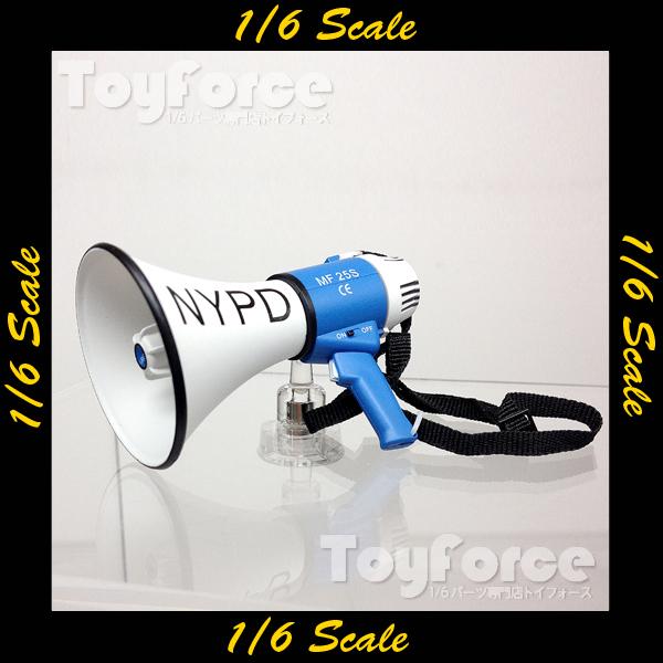 【02432】 1/6 ZC World NYPD 拡声器