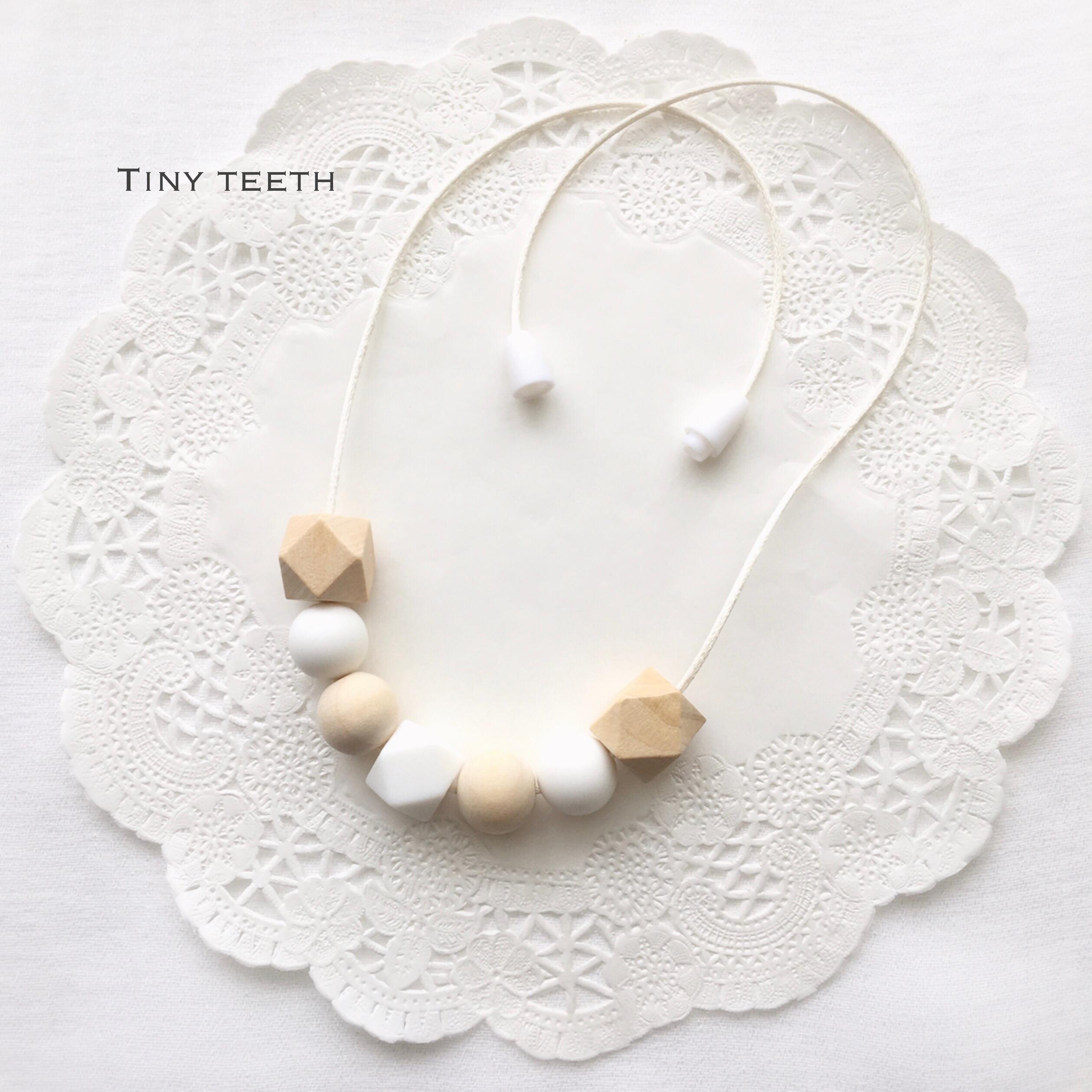 ママ用ネックレスフルオーダー*Tiny Teeth