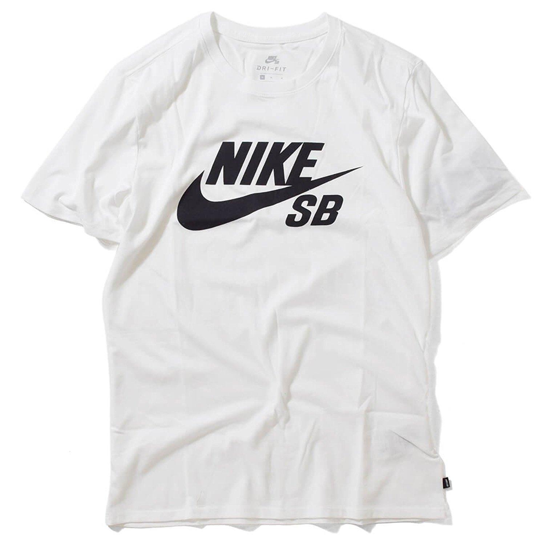 NIKE SB (ナイキ エスビー) ドライフィット ロゴ Tシャツ WHITE (ホワイト) 821947-100