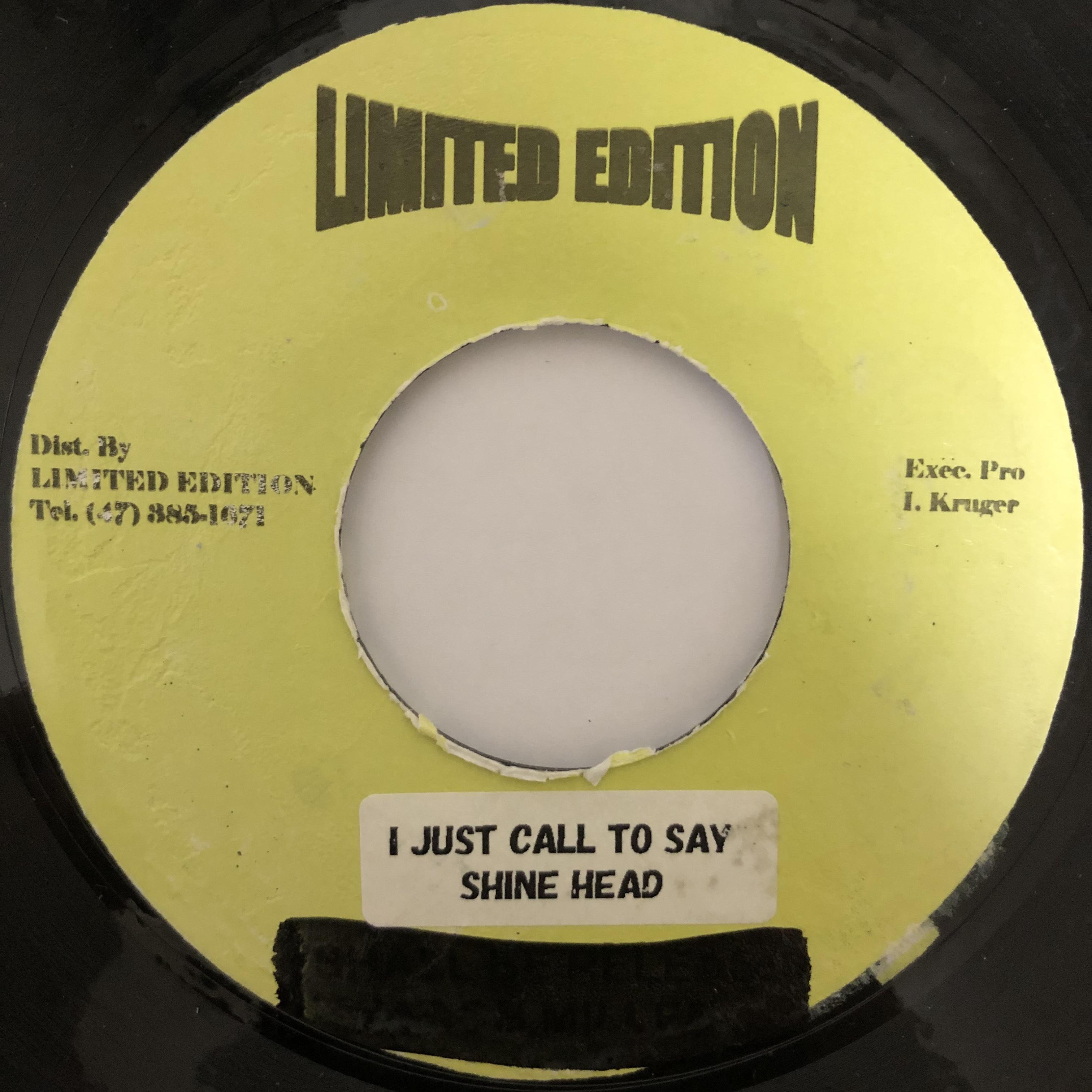 Shinehead - I Just Call To Say【7-20413】