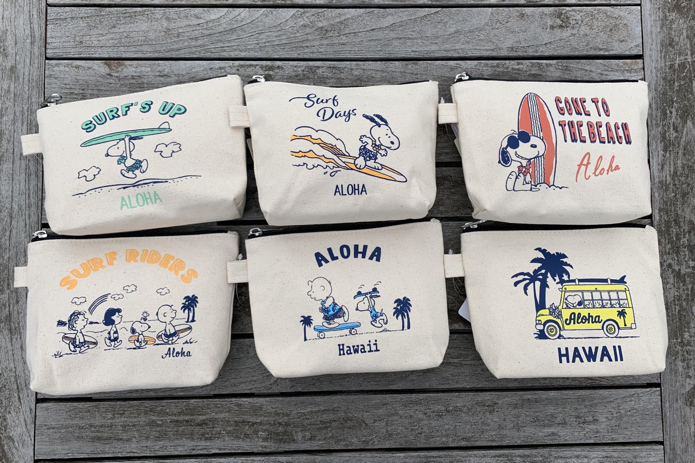 【セール】スヌーピー ビーチポーチ 全6種類