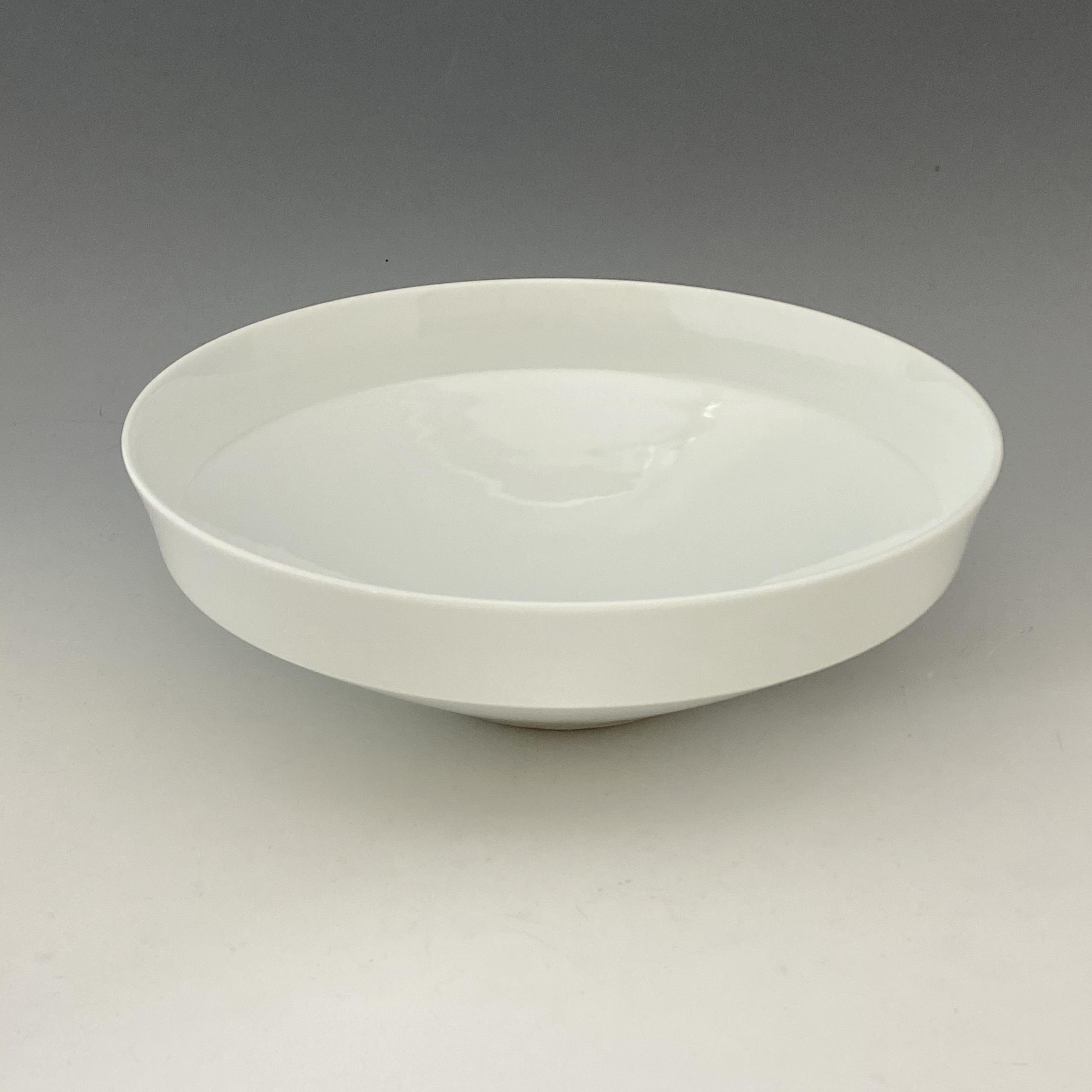 【中尾純】白磁鉢(大•深)