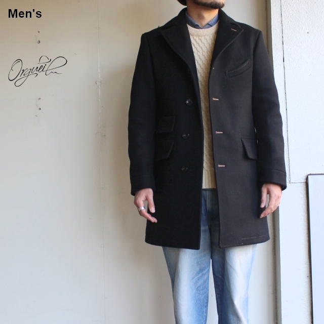 Orgueil チェスターフィールドコート Chesterfield Coat OR-4023C (BLACK)