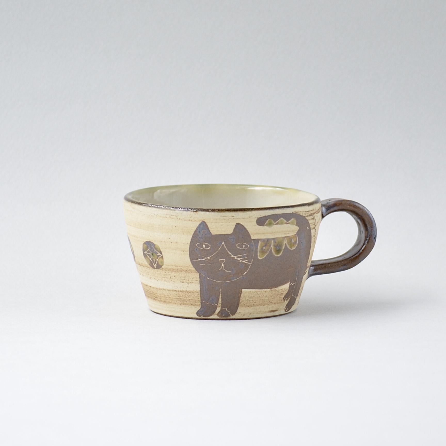 ハチワレネコのマグカップ s3