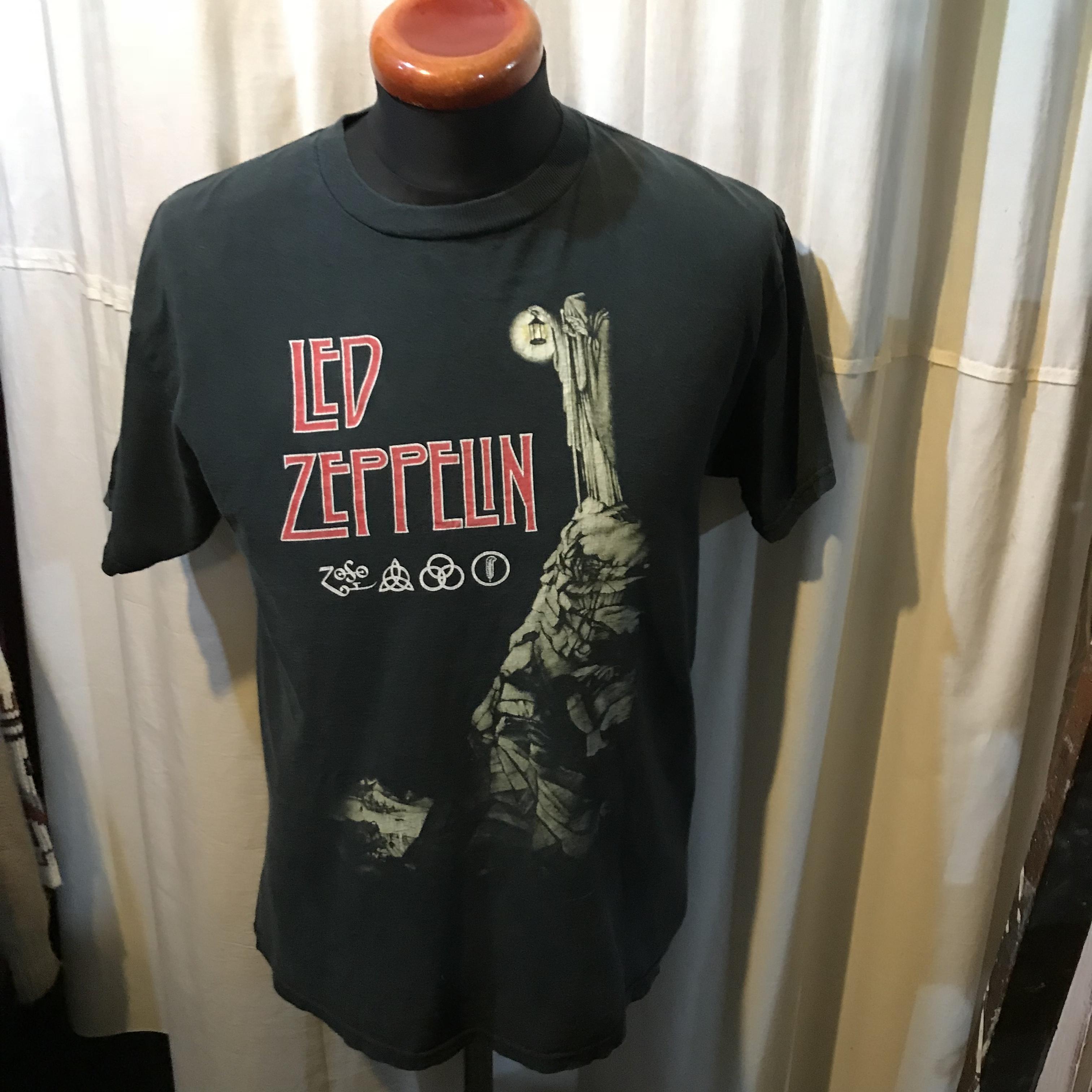 LED ZEPPELIN レッドツェッペリン 半袖Tシャツ メンズM