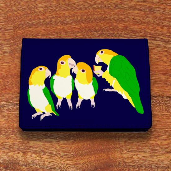 シロハラインコ カードケース