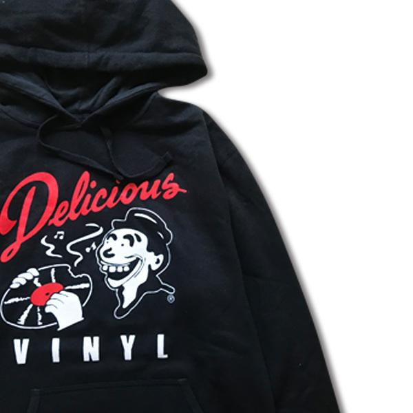Delicious Vinyl / Classic Logo Hoody Black