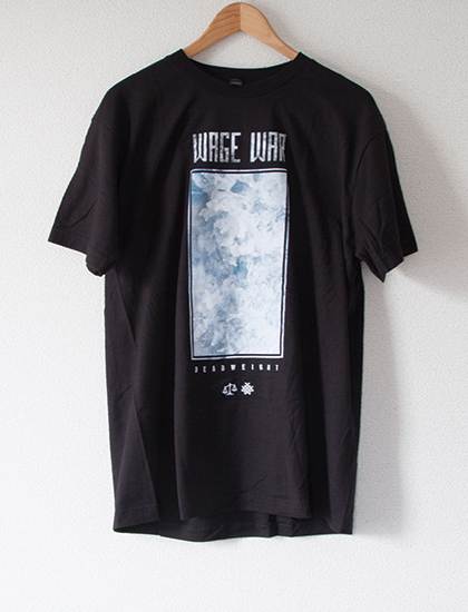 【WAGE WAR】Album Artwork T-Shirts (Black)