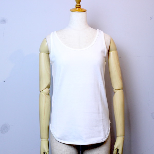 """20%OFF"" Tieasy AUTHENTIC CLASSIC(ティージー オーセンティッククラシック) ""SUMMER KNIT ROUND TANK""te503t WHITE"