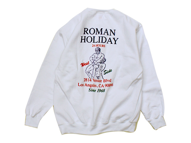BOYS OF SUMMER|ROMAN HOLIDAY CREWNECK