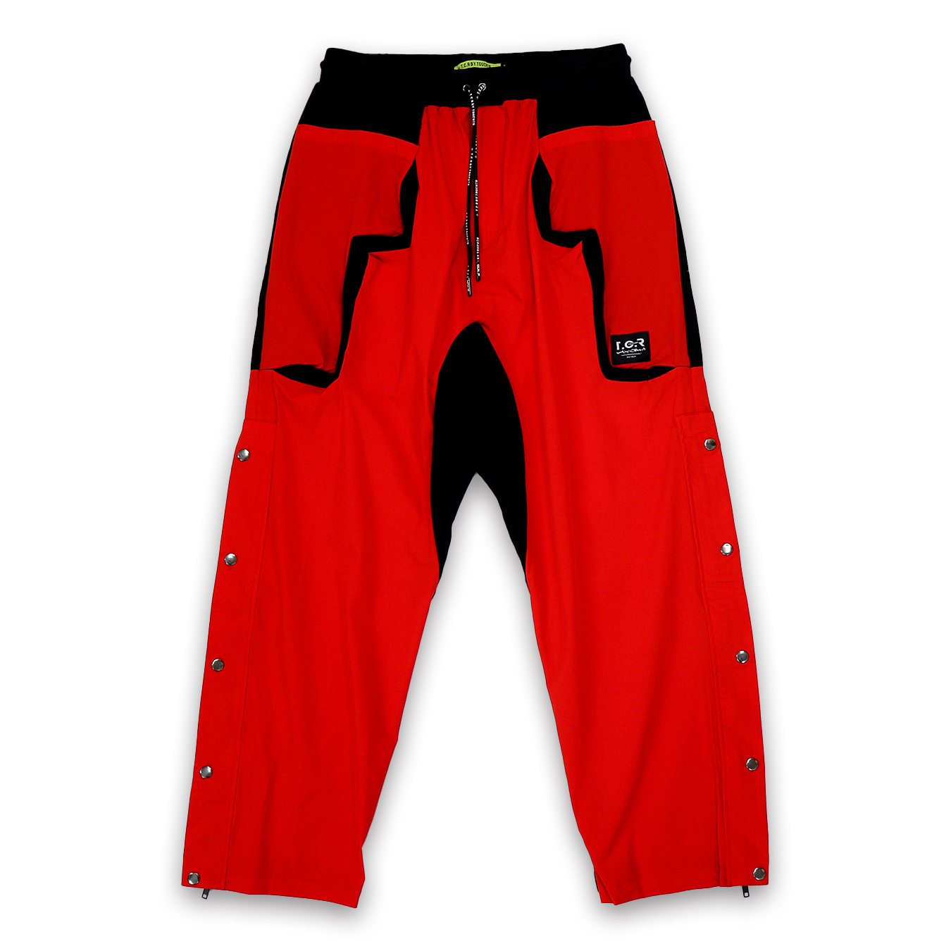 T.C.R EQUIPMENT SHELL PANTS V2 - RED/BLACK