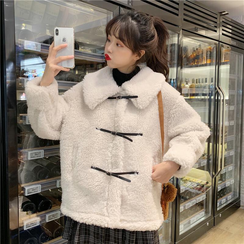 【送料無料】冬の ガーリー アウター  ♡ フェミニン ファー ボア ボリューム ジャケット コート