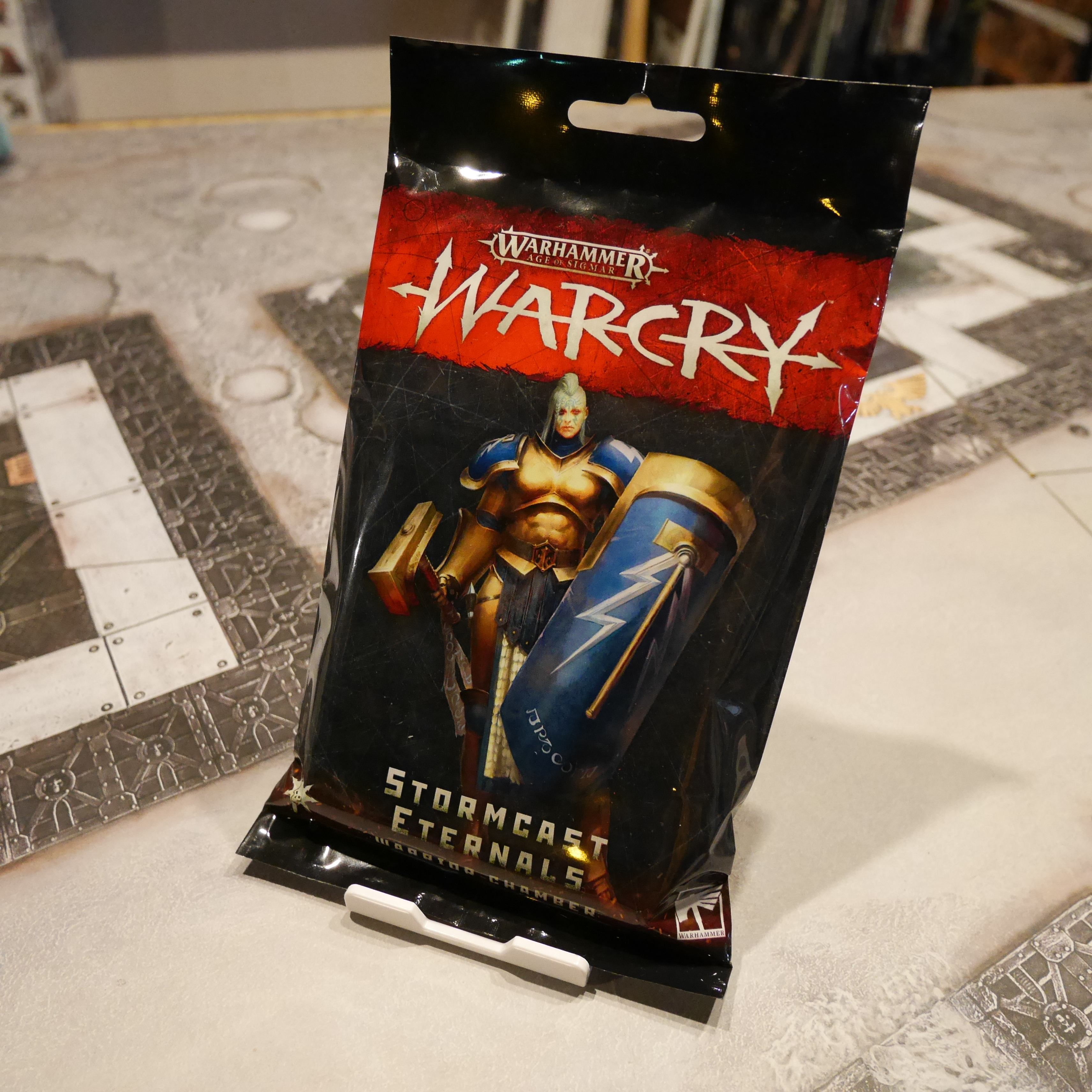 Warcry Stormcast Warrior Chamber Cards