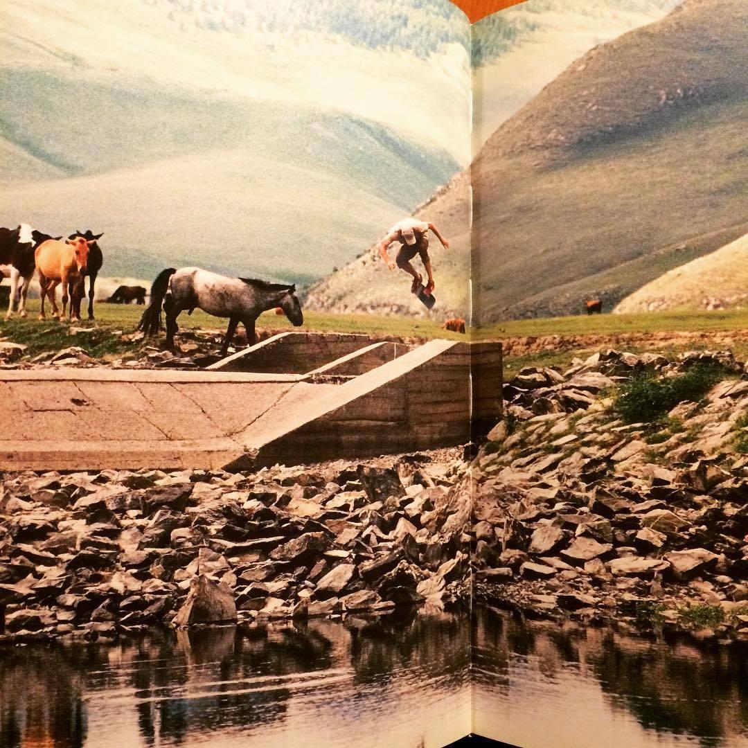 スケートボート ドキュメント写真集「Dirt Ollies: A Skate Board Trip to Mongolia」 - 画像2