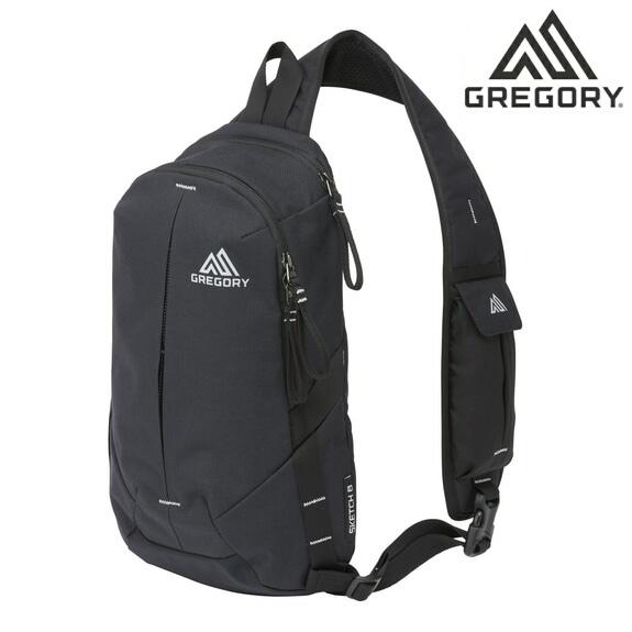 グレゴリー ショルダーバッグ ボディーバッグ スケッチ8 GREGORY CLASSIC SKETCH 8 ブラック/カーボン 109449
