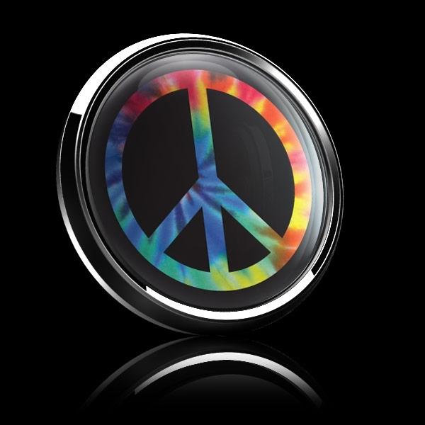 ゴーバッジ(ドーム)(CD1079 - PEACE TIE DYE) - 画像4
