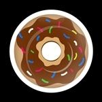 ゴーバッジ(ドーム)(CD0902 - Seasonal CHOCOLATE FROSTED) - 画像1