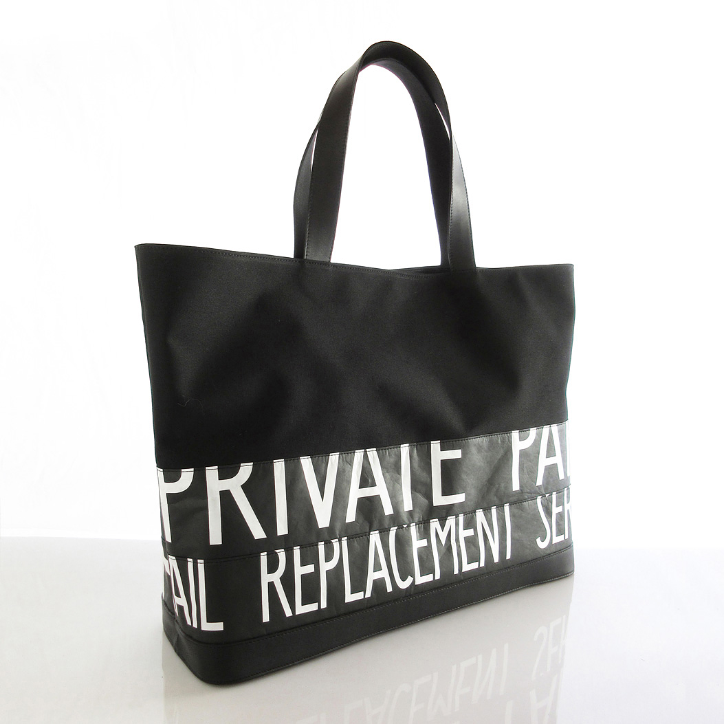 Tote Bag (L) / Black  TLB-0006