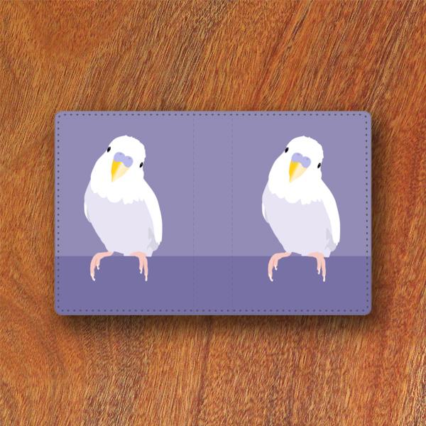 セキセイインコホワイトウィング カードケース