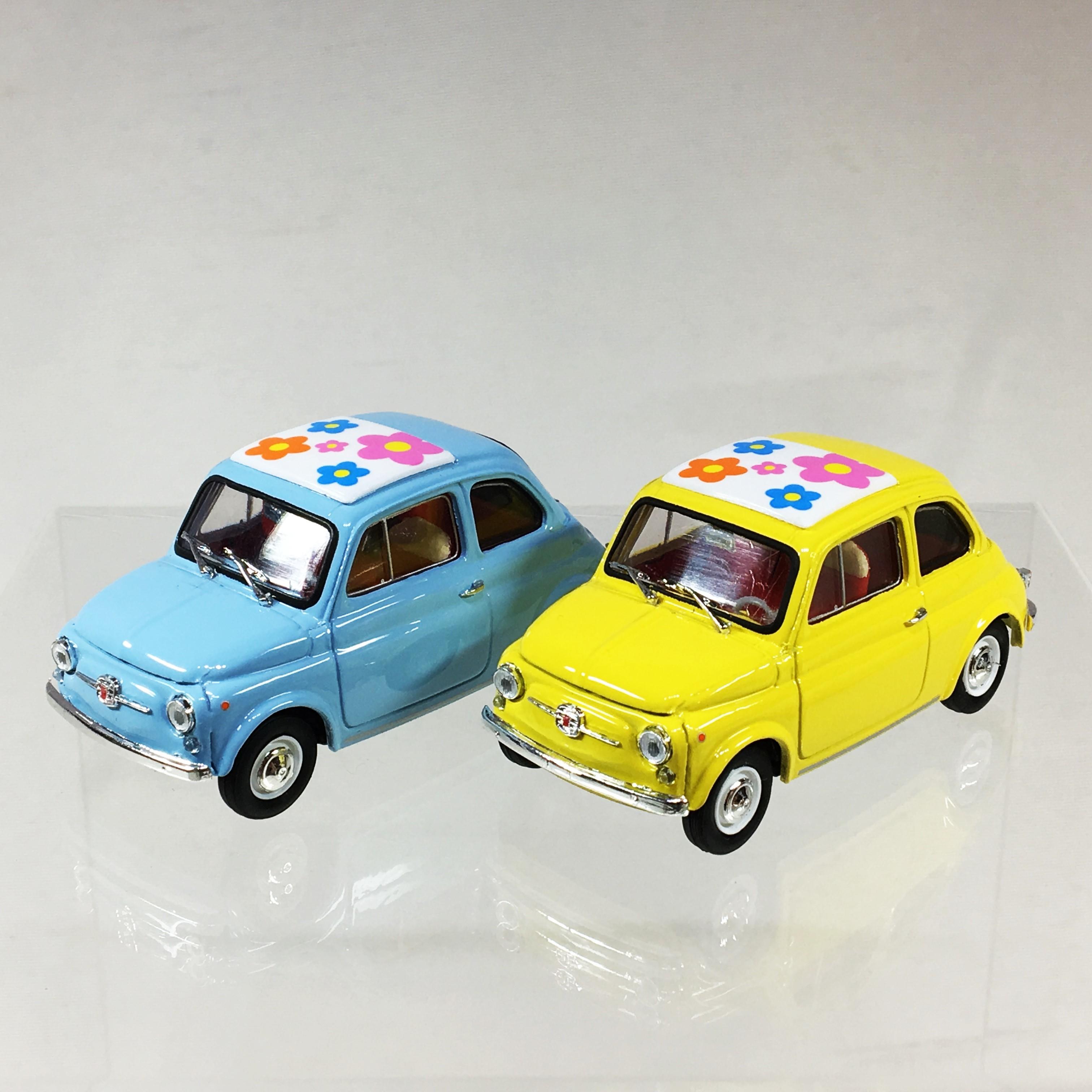 Fiat 500F Giallo Edizione Limitata 200 pezzi1/43【brumm】【1個のみ】【税込価格】