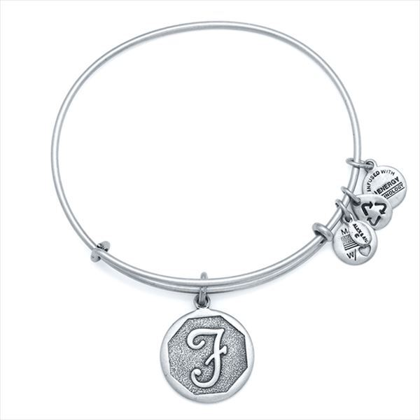 ALEX AND ANI INITIAL EWB - F / Silver