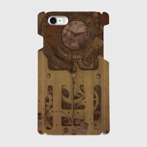 古時計スチームパンク(gear) / iPhoneスマホケース(ハードケース)