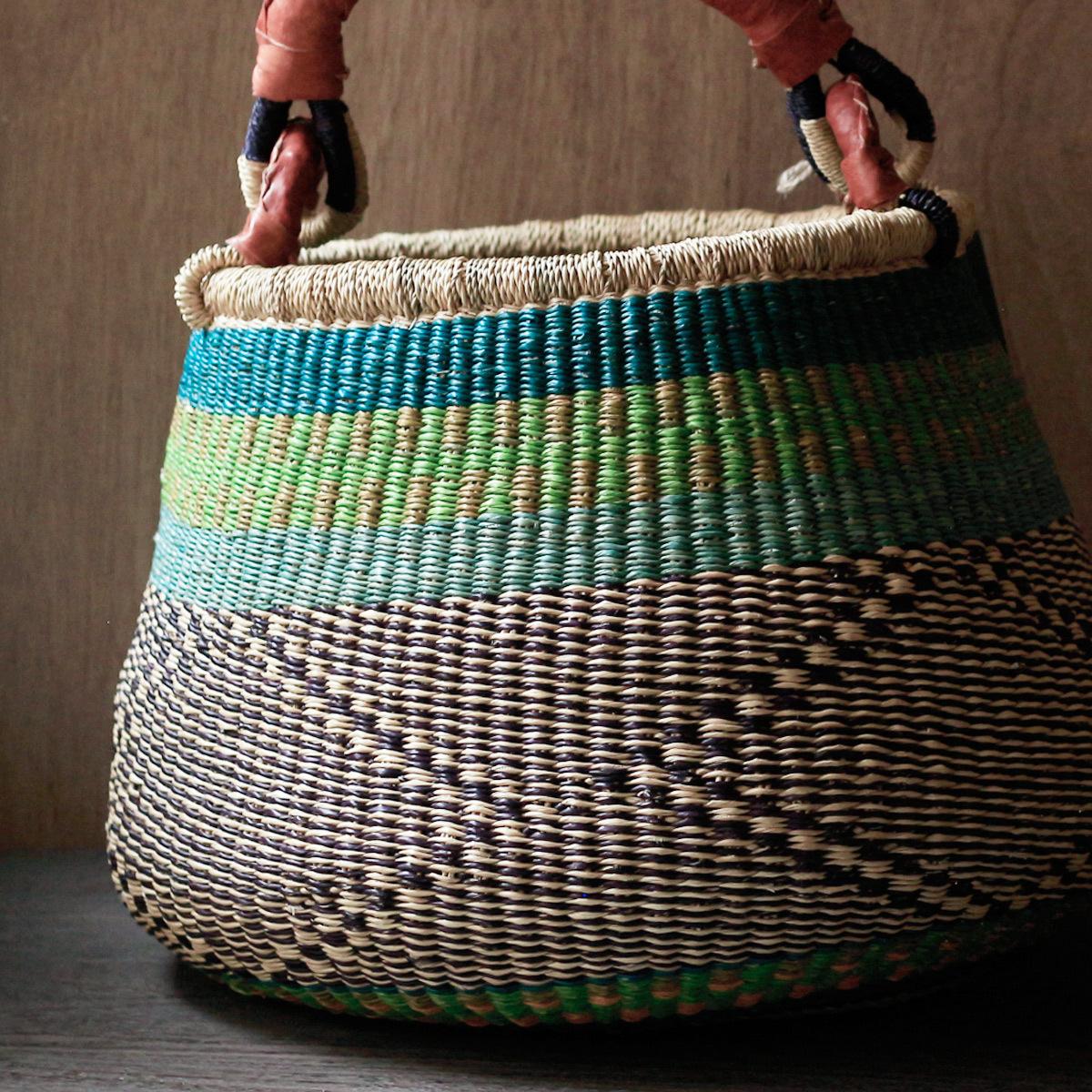 Bolga Egg Basket / L 1