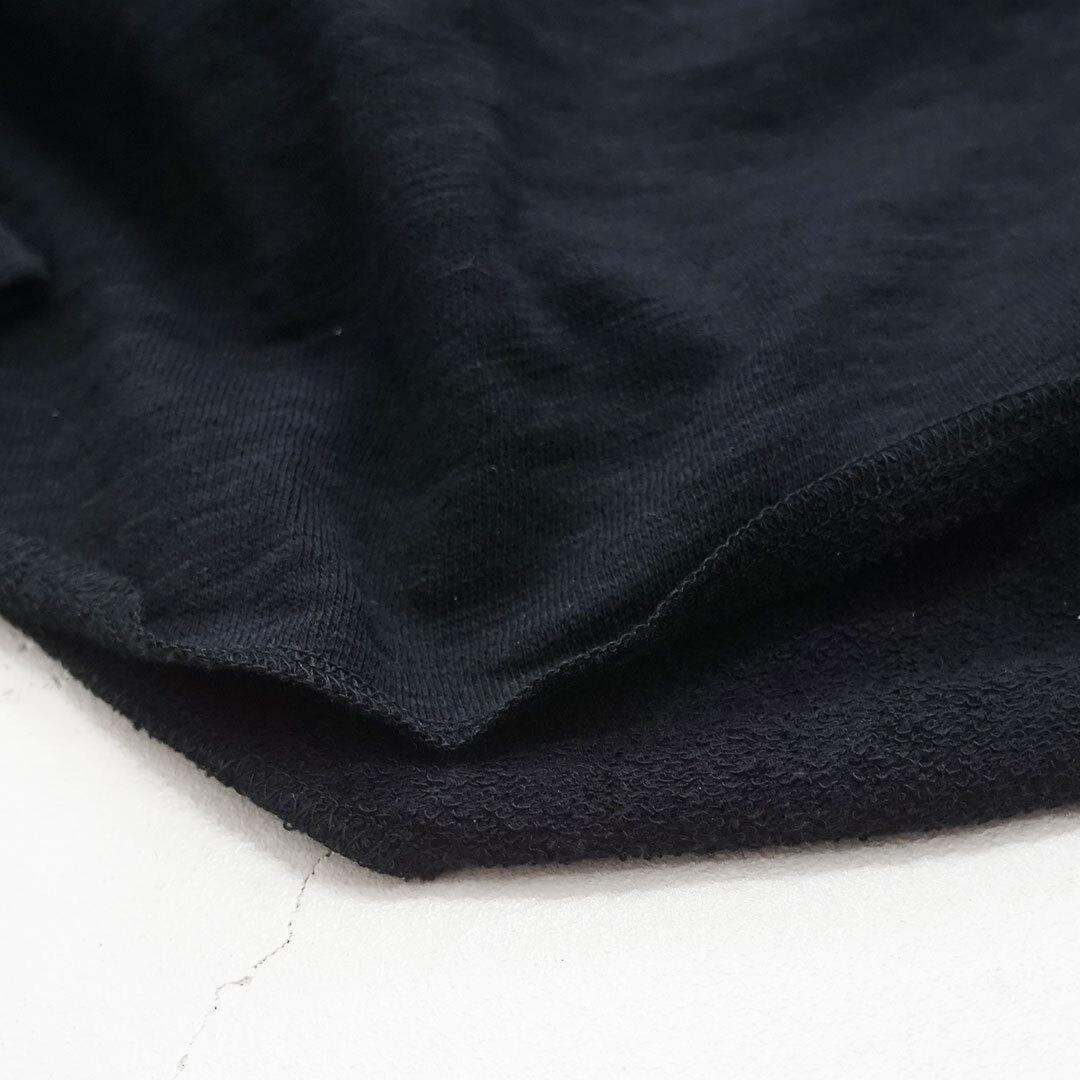 NARU ナル スラブ裏毛後ろボタンプルオーバー (品番635316)