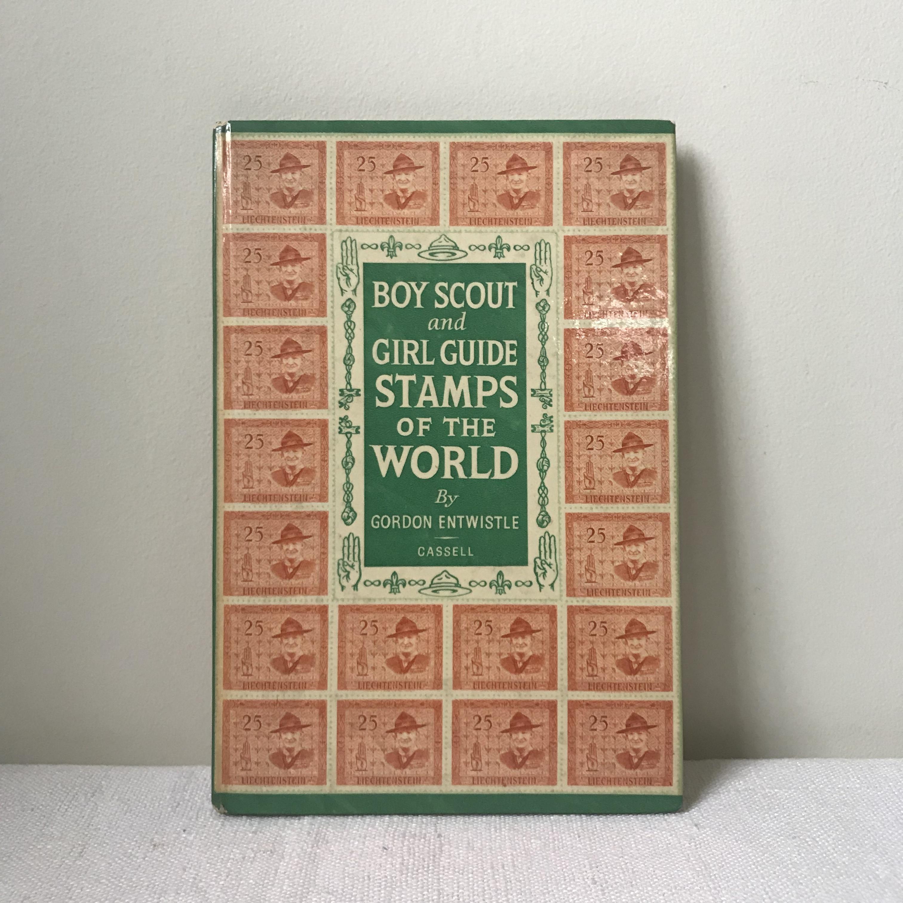ボーイスカウトの切手の本