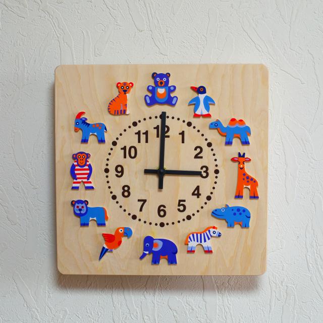 ヘラー時計 動物たち