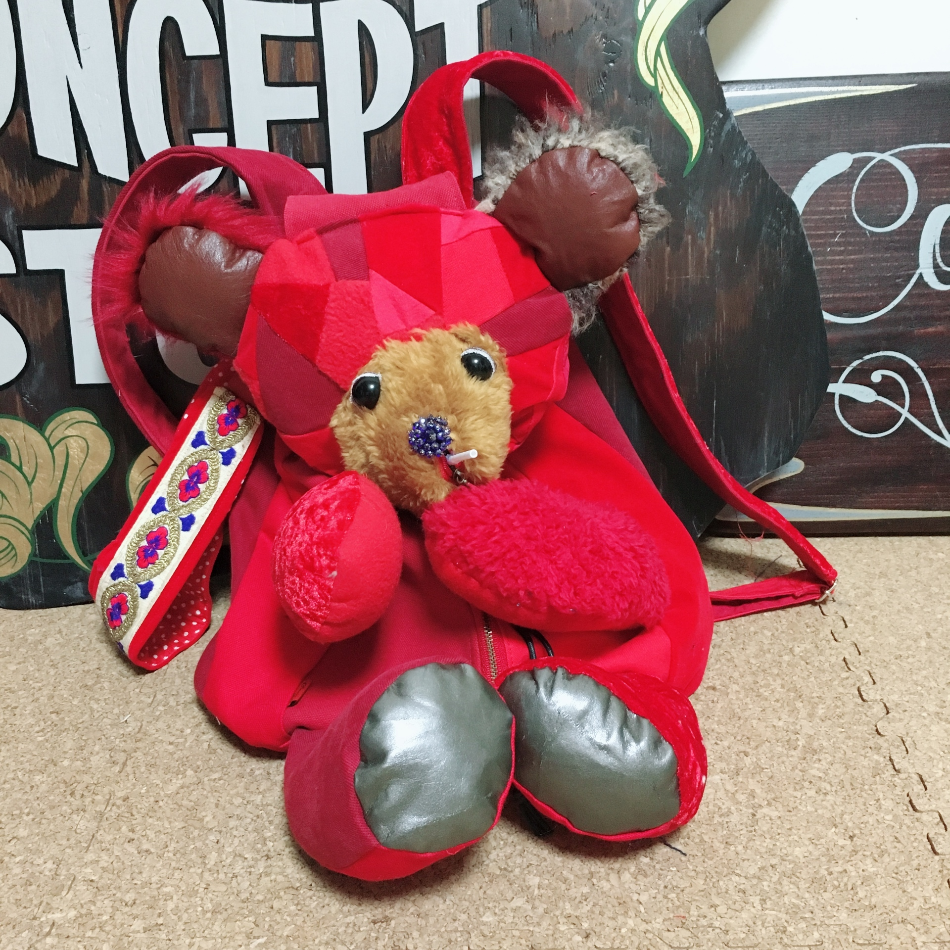 Red Bear Backpack