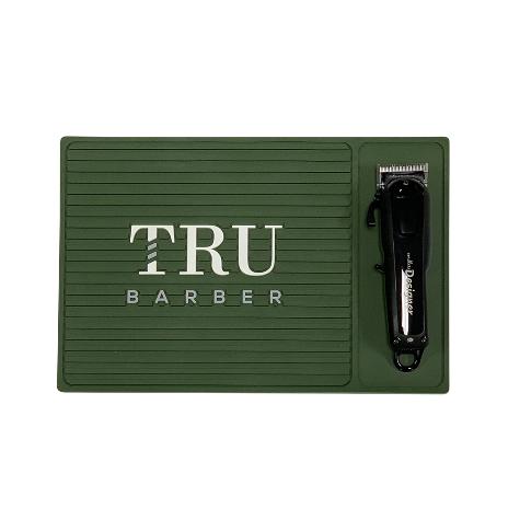 TRU BARBER クリッパーステーションマット【スモールサイズ】