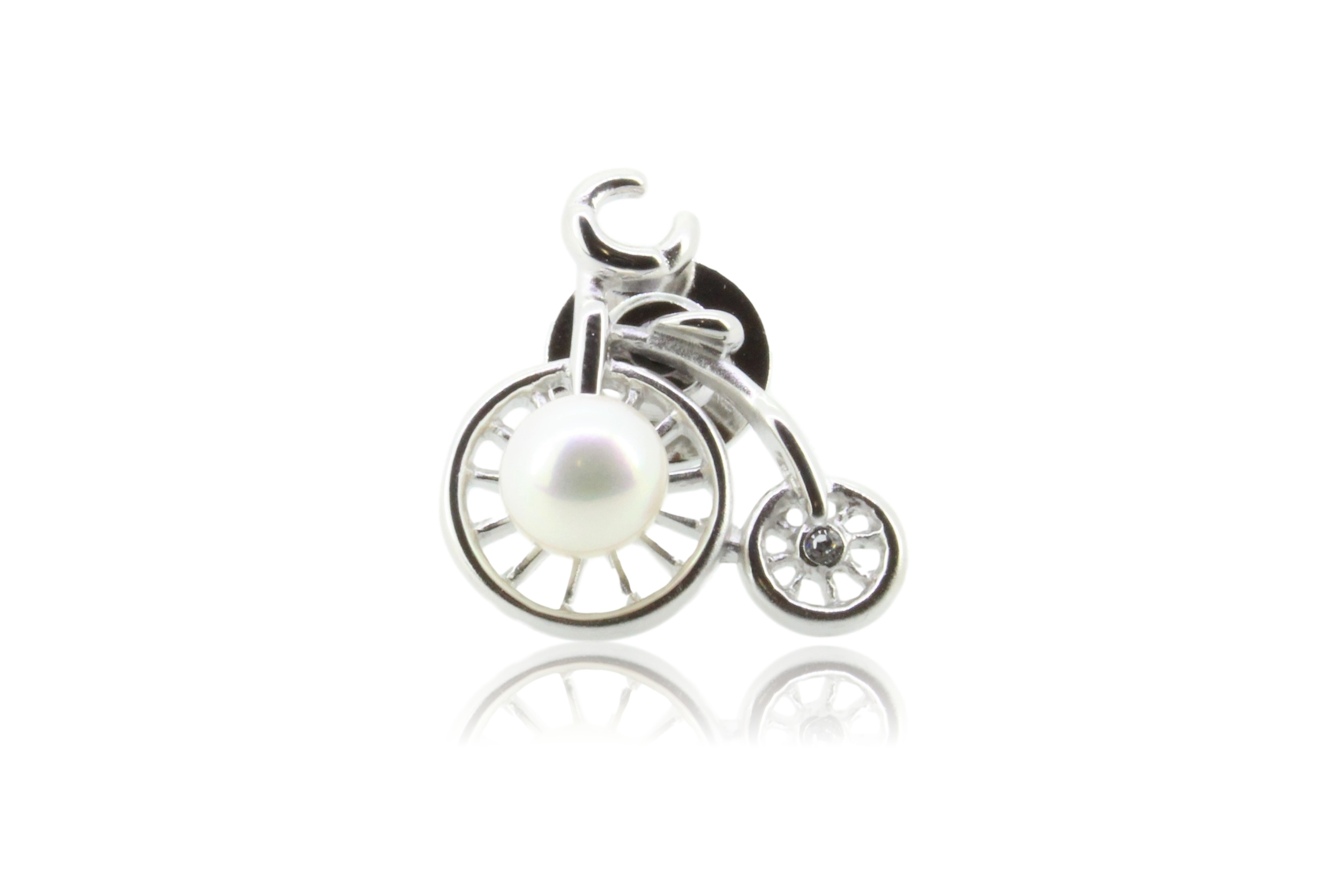 ピンブローチ〈自転車レトロ〉