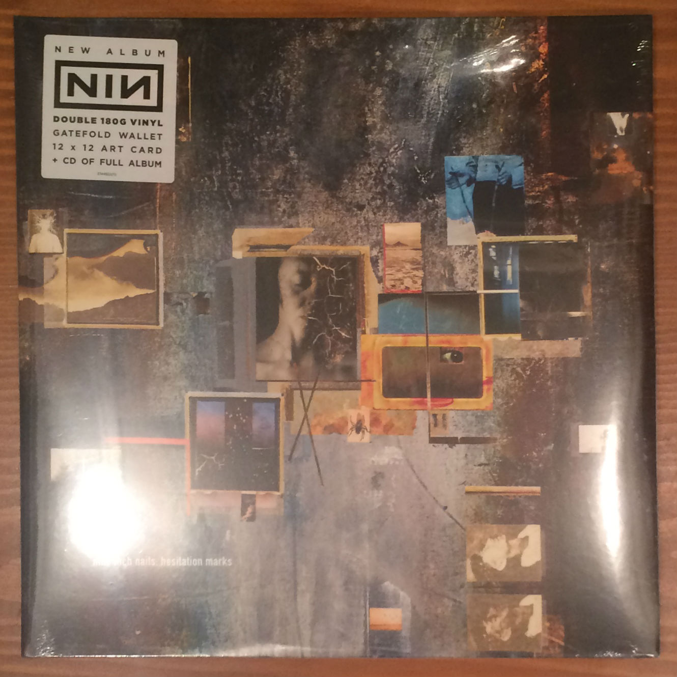 ●NINE INCH NAILS / HESITATION MARKS(2LP+CD)