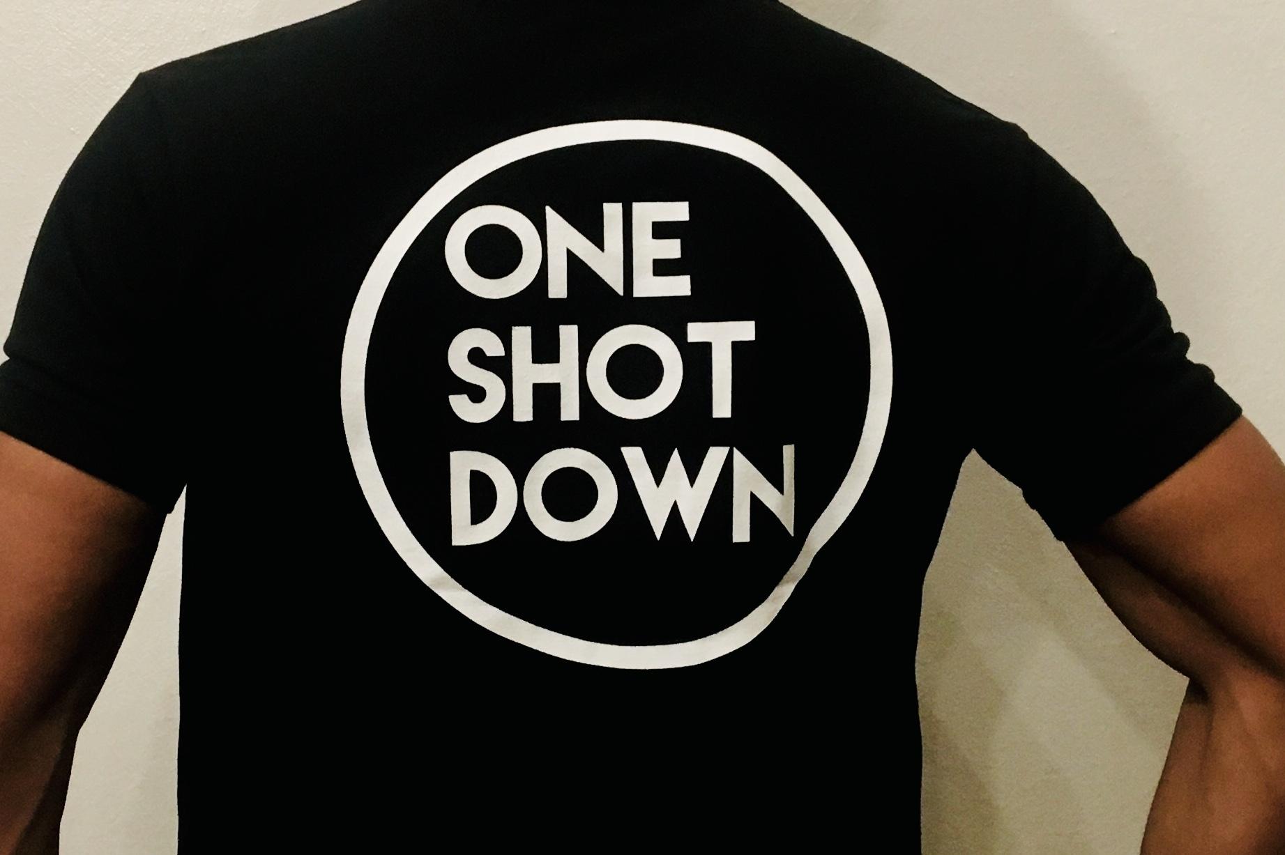 ONESHOTDOWN サークルロゴポロシャツ - 画像4