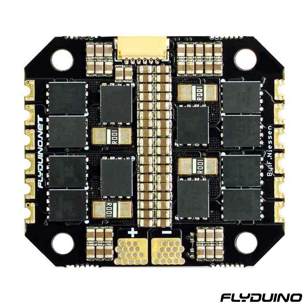 FLYDUINO KISS ESC 2-5S 25A 4in1 (40A limit) - 32bit brushless Motor Ctrl