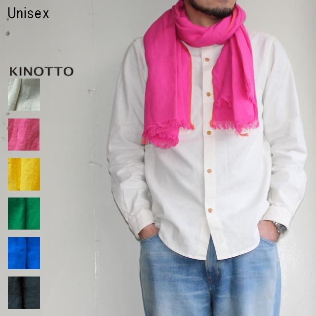 KINOTTO リネンガーゼストール 251A-01