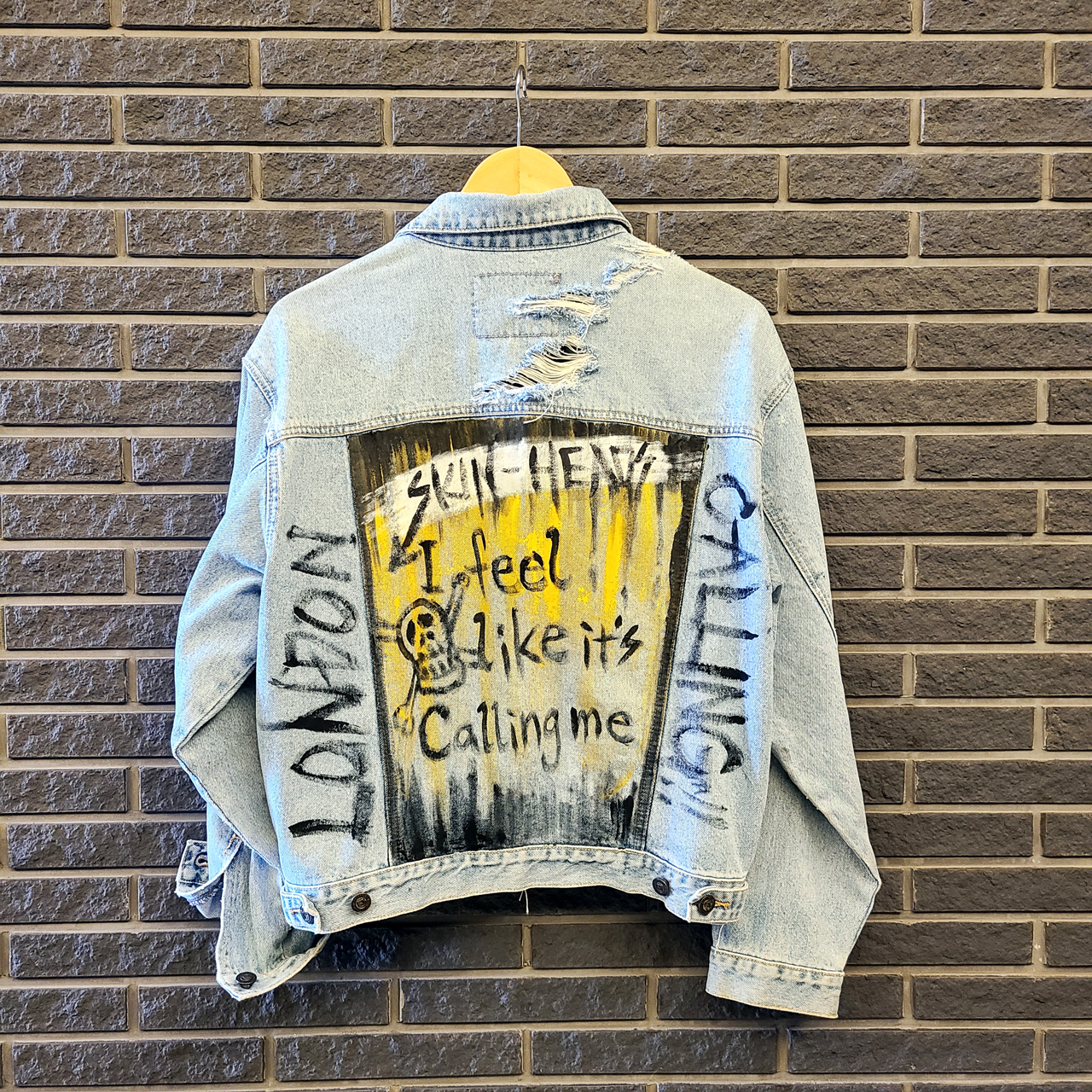 Art On Clothing / Denim Jacket【WER-004】